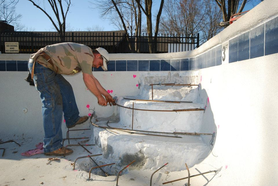Tile repair for your pool or deck