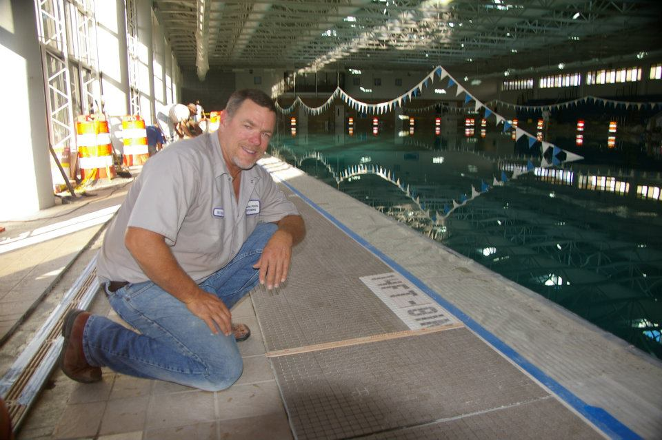 Mr. Deaton has worked in the pool business since 1982