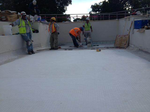 Pool contrators of Carolina Pool Plastering