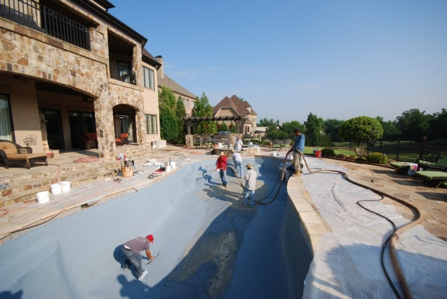 Pool Installation - Charlotte, NC
