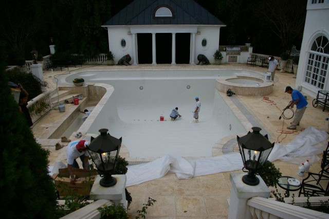Swimming pool construction and renovation -  Charlotte, NC
