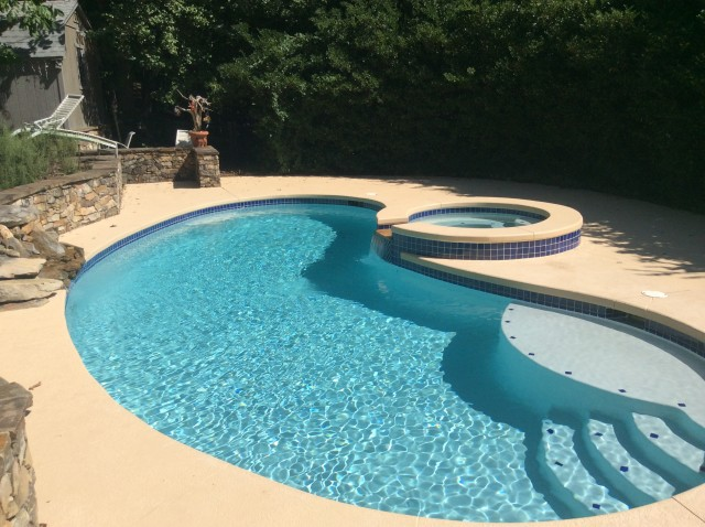New pool deck in Charlotte, NC